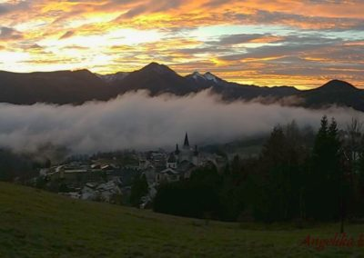 Mariazell Abendrot 400x284 - Nature